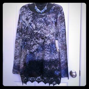 One World dressy blouse